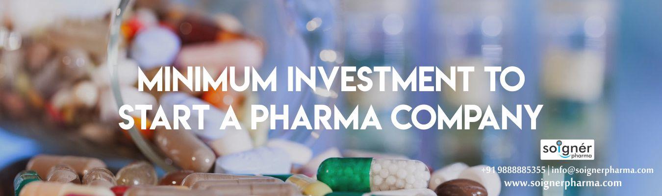 Minimum Investment to Start a Pharma Company